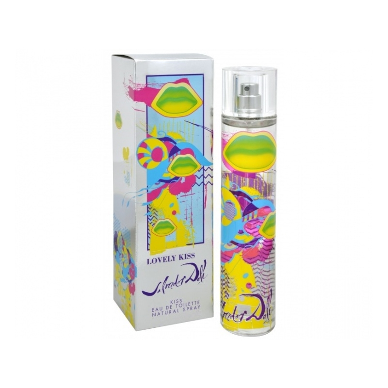 Salvador Dali Lovely Kiss Eau de Toilette 100 ml