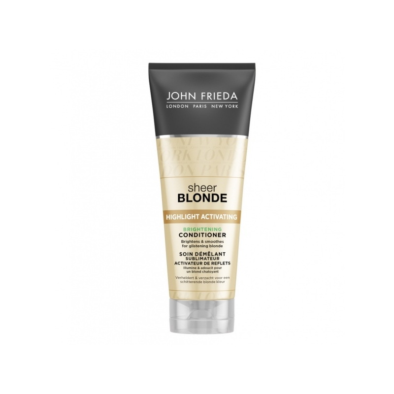 John Frieda Sheer Blonde Highlight Activating helendav palsam blondidele juustele