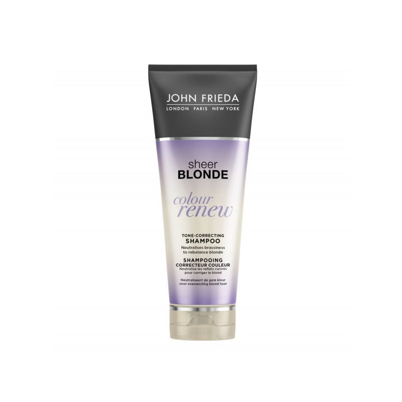 John Frieda Sheer Blonde Colour Renew värvi värskendav šampoon
