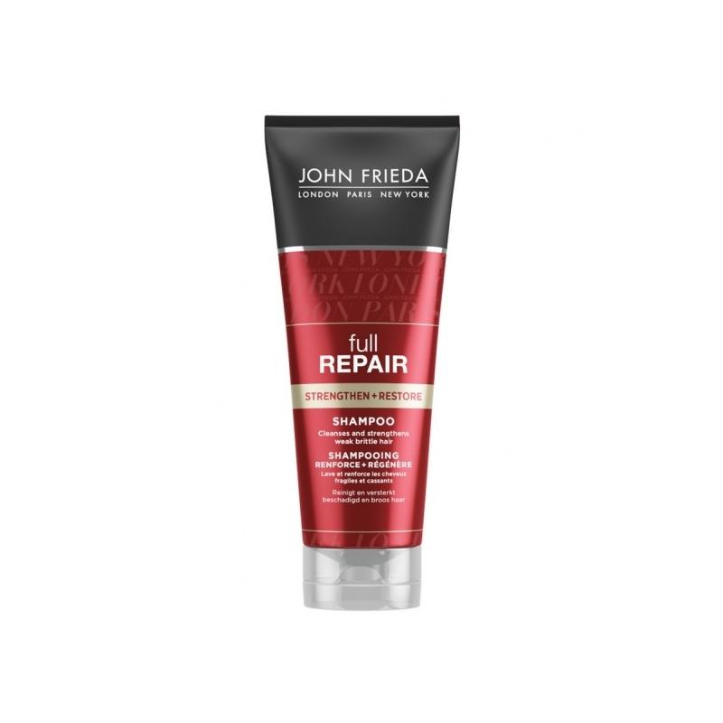 John Frieda Full Repair Strengthen+Restore taastav šampoon kahjustatud juustele