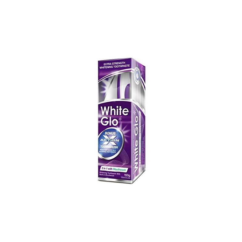 White Glo 2in1 valgendav hambapasta