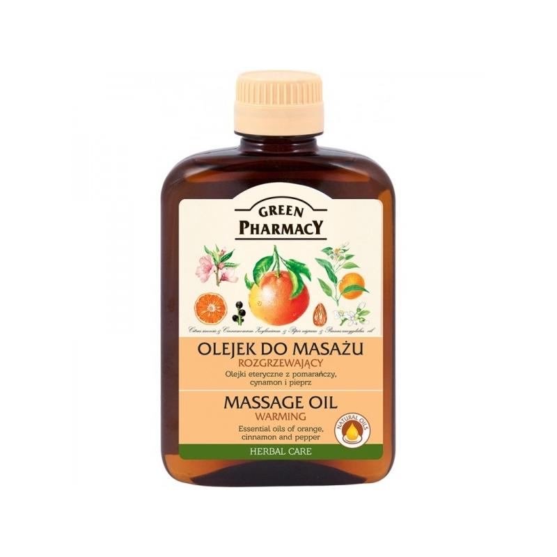 Green Pharmacy massaažiõli apelsin,kaneel, pipar GP 728