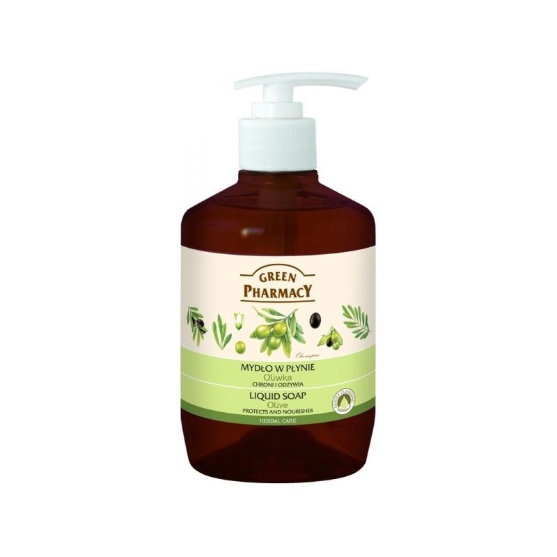 Green Pharmacy vedelseep oliiv 483