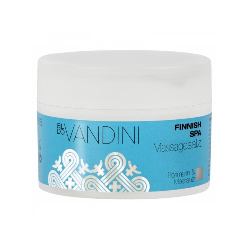 Aldo Vandini Spa kooriv massaažisool rosmariin-valge kask 433303