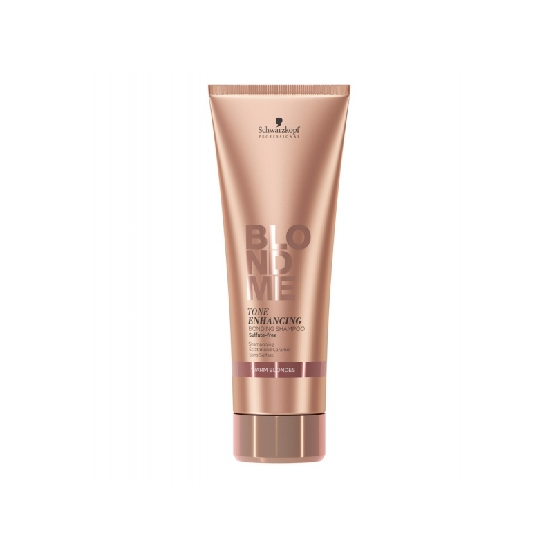 Schwarzkopf Blond Me Color Enhancing Blonde Shampoo Rich Caramel tooni tugevdav šampoon