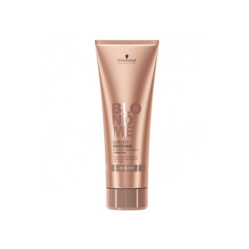 Schwarzkopf Professional Blond Me Keratin Restore Bonding Shampoo taastusšampoon