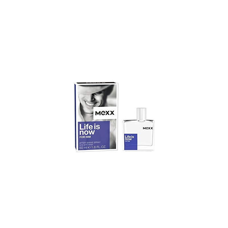 Mexx Life is Now After Shave habemeajamisjärgne vedelik 50 ml