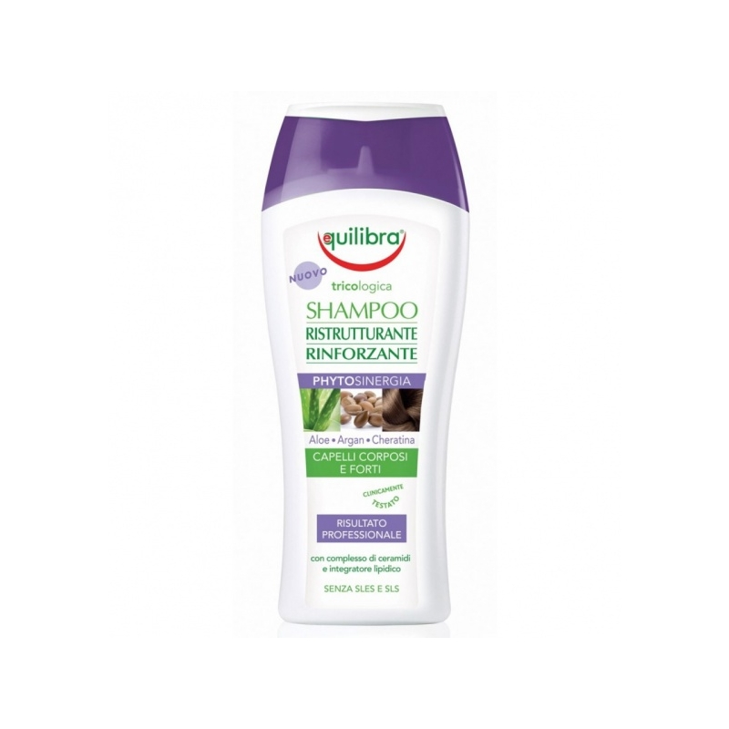 Equilibra Aaloe šampoon taastav ja tugevdav