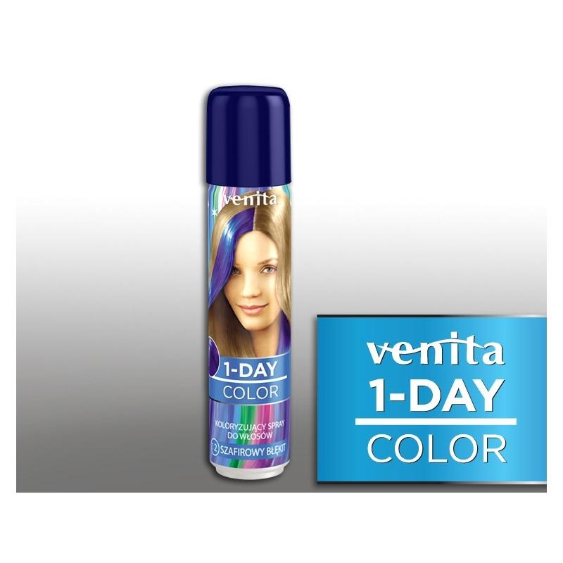 Venita värviv juuksesprei 12 ultra sinine