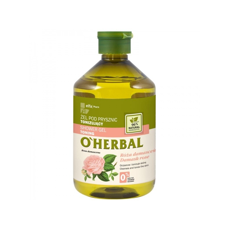 GP 043 HERBAL DUŠIGEEL DAMASKUSE ROOS