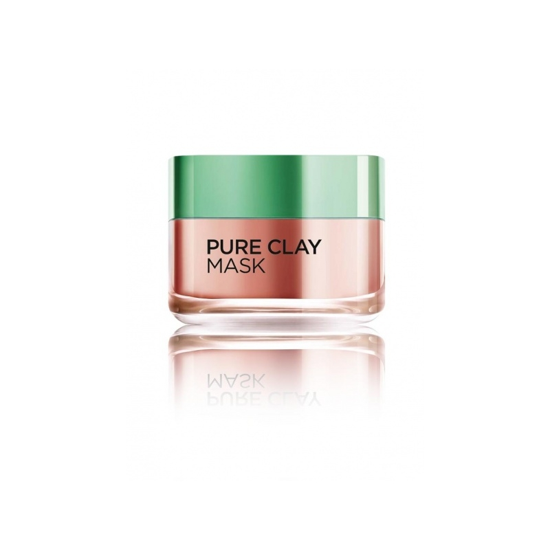 LOR.PURE NÄOMASK CLAY GLOW 50 ML