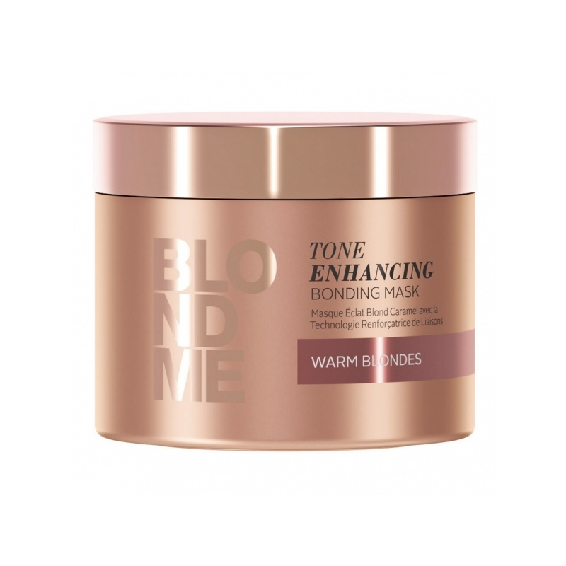 Schwarzkopf Blond Me Tone Enhancing Bonding Mask Warm Blondes tooni tugevdav süvahooldus