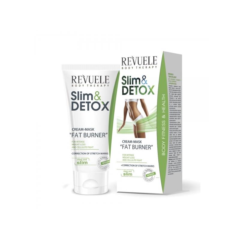 Revuele Slim&Detox rasva põletav kreem-mask kehale 901109