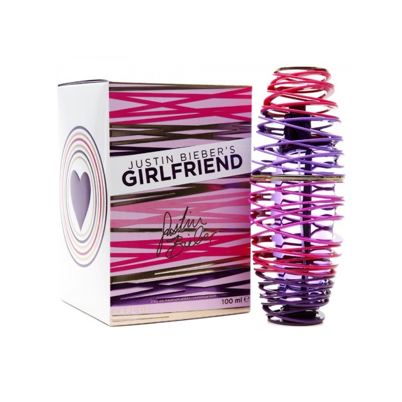 Justin Bieber Girlfriend Eau de Parfum 15 ml