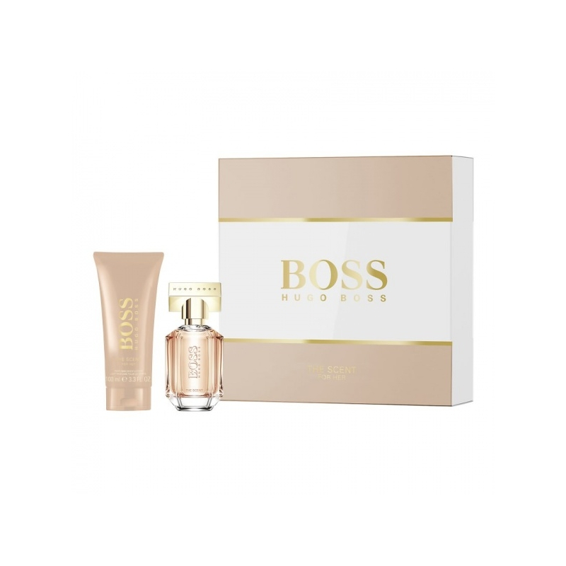 Hugo Boss Scent For Her Eau de Parfum 30 ml+ihupiim 100 ml