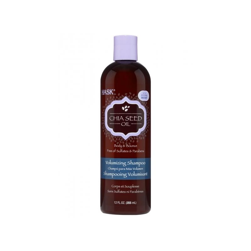 Hask Chia Seed Oil volüümi andev šampoon