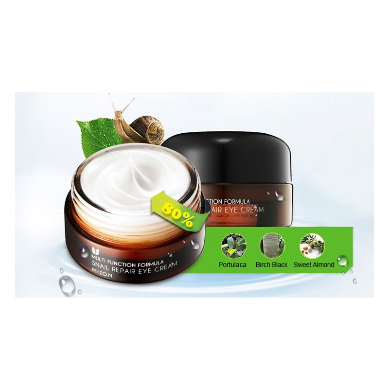 Mizon Snail Repair Eye Cream, silmaümbruskreem teolimaga