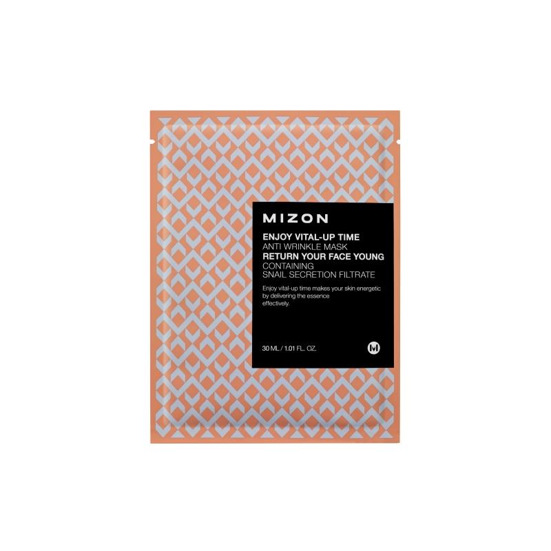 Mizon Enjoy Vital-Up Time Anti-wrinkle kortsuvastane näomask