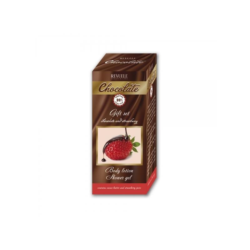 Revuele komplekt maasikas-šokolaad