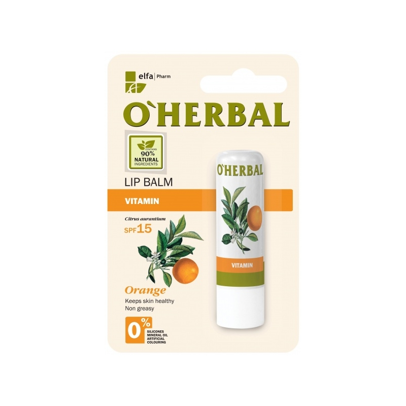O´Herbal apelsiniõliga huulepalsam GP 259