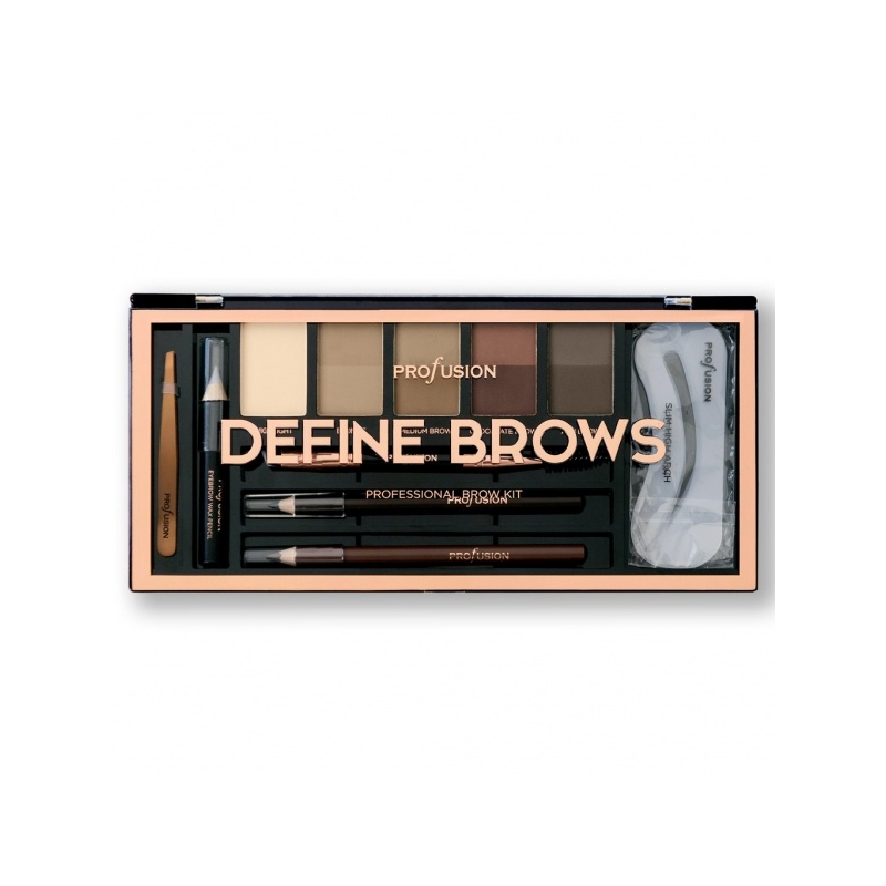 Profusion Define Brows kulmupalett 1944-2DSP