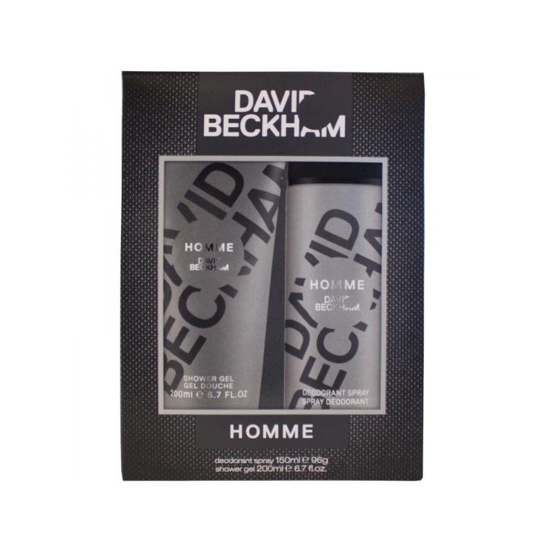 Beckham Homme Set dušigeel+deodorant