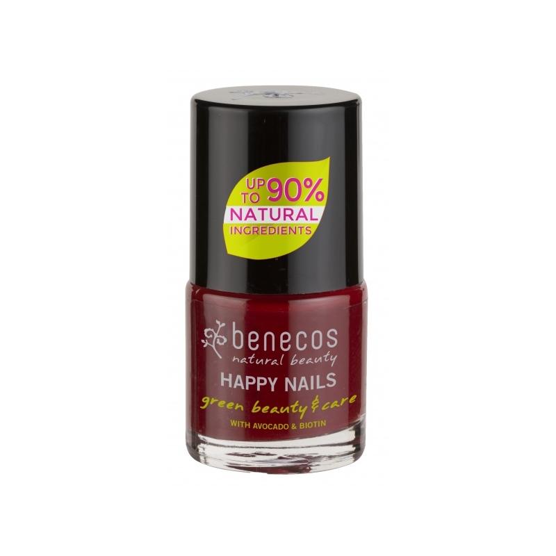 """Benecos Happy Nails küünelakk """"cherry red"""""""