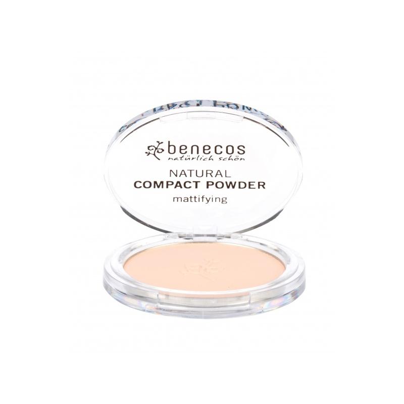 """Benecos Natural kompaktpuuder """"porcelain"""""""