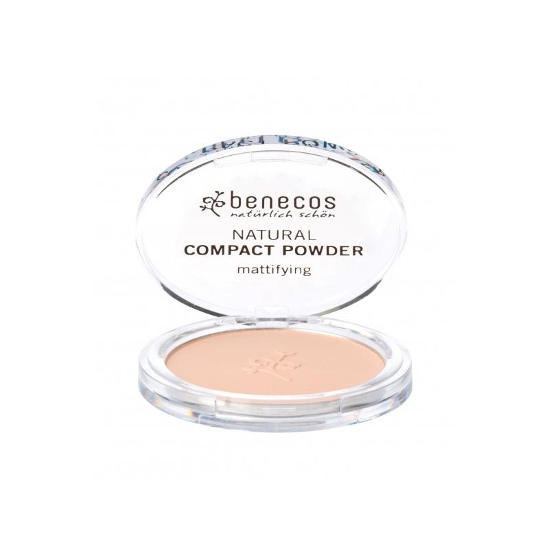 "Benecos Natural kompaktpuuder ""sand"""
