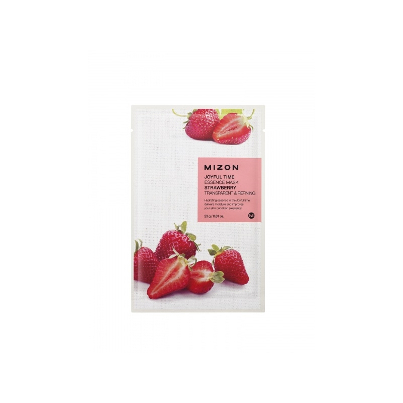 Mizon Joyful Time Essence Strawberry näomask