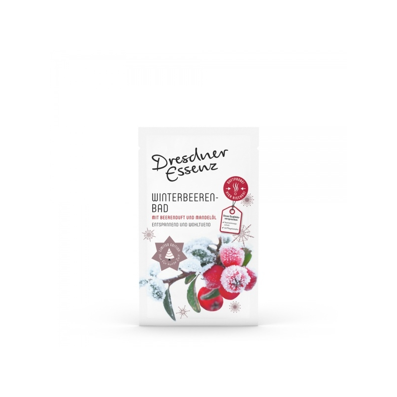 Dresdner Essenz Bath Essence Winterberries vannisool Talvemarjad