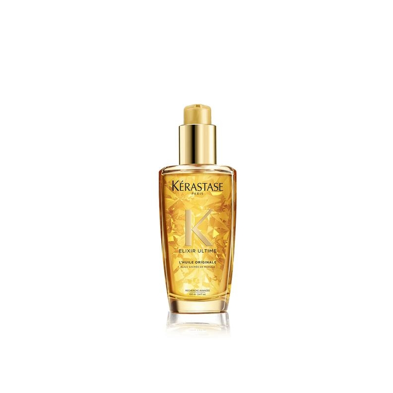 Kerastase Elixir Ultime L' Huile Originale ilu lisav õli  elututele sära vajavatele juustele