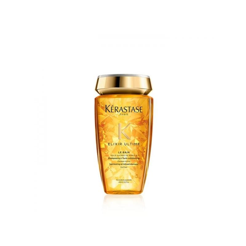 Kerastase Elixir Ultime Renovation taastav šampoon elututele sära vajavatele juustele