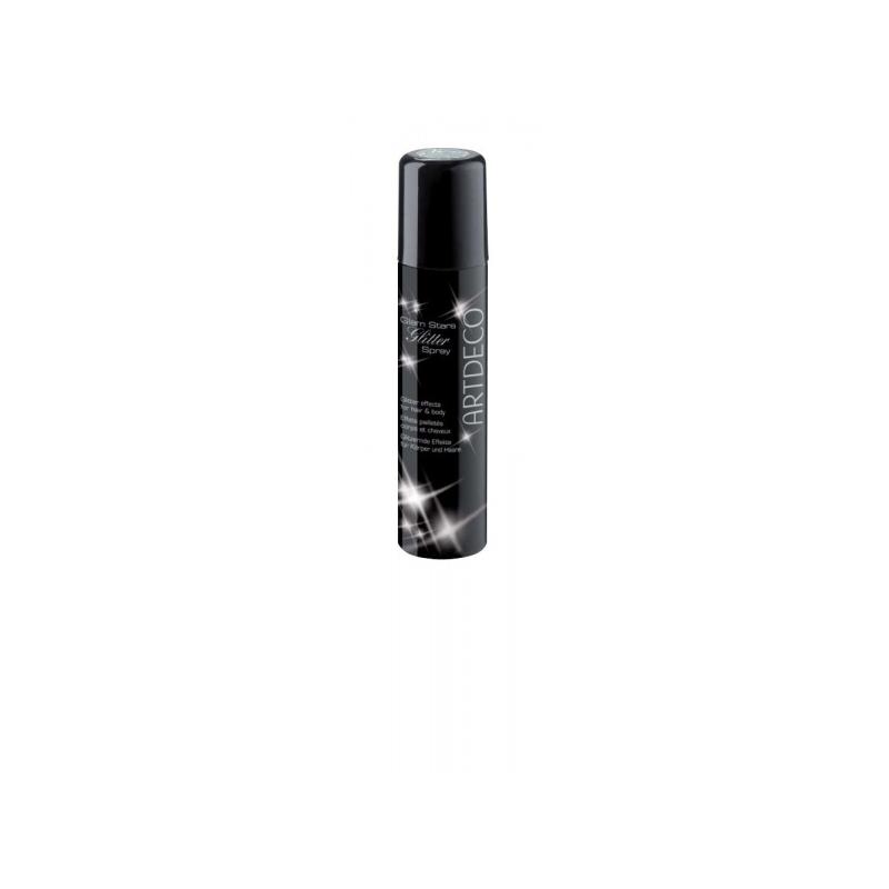 Artdeco Glam Stars Glitter Spray sädelev sprei hõbe 5632.1