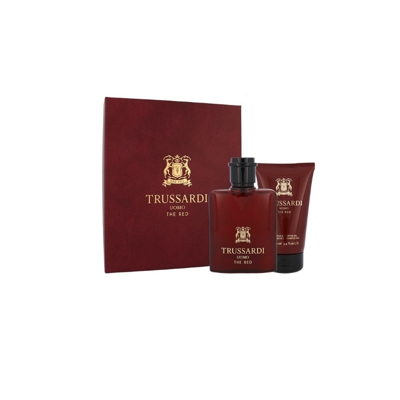 Trussardi Uomo The Red SEt Eau de Toilette 50 ml+dušigeel 100 ml