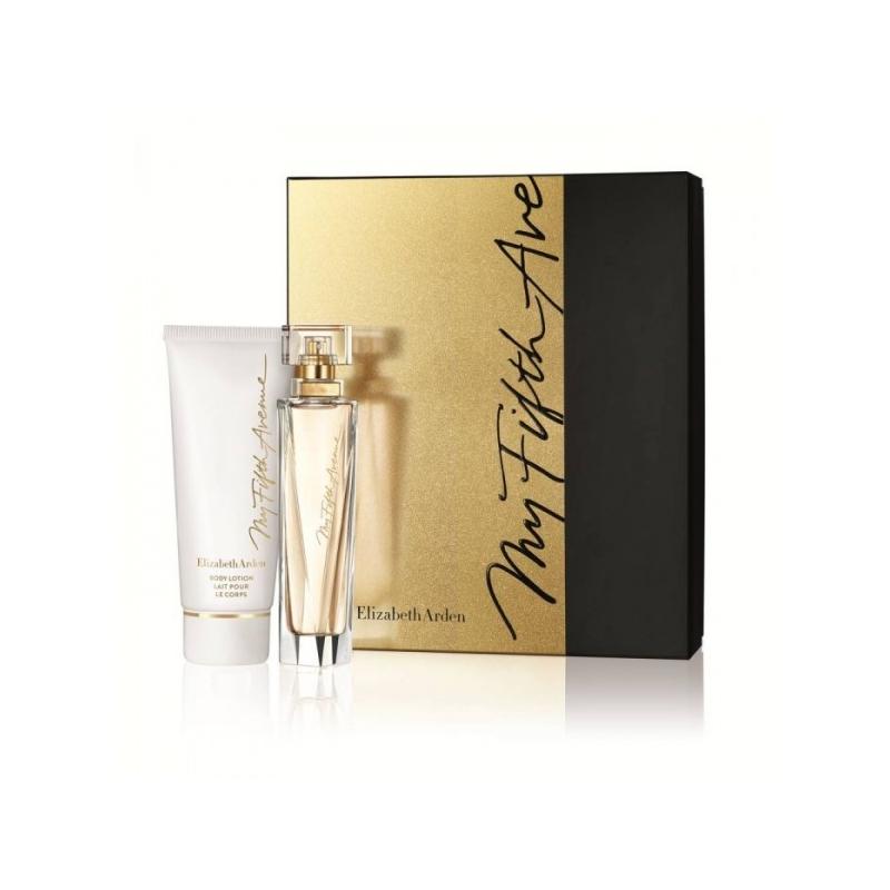 Elizabeth Arden My Fift Avenue Eau de Parfum 50 ml+Ihupiim 100 ml