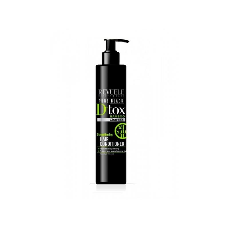 Revuele Pure Black Detox tugevdav juuksepalsam bambussöega 100787
