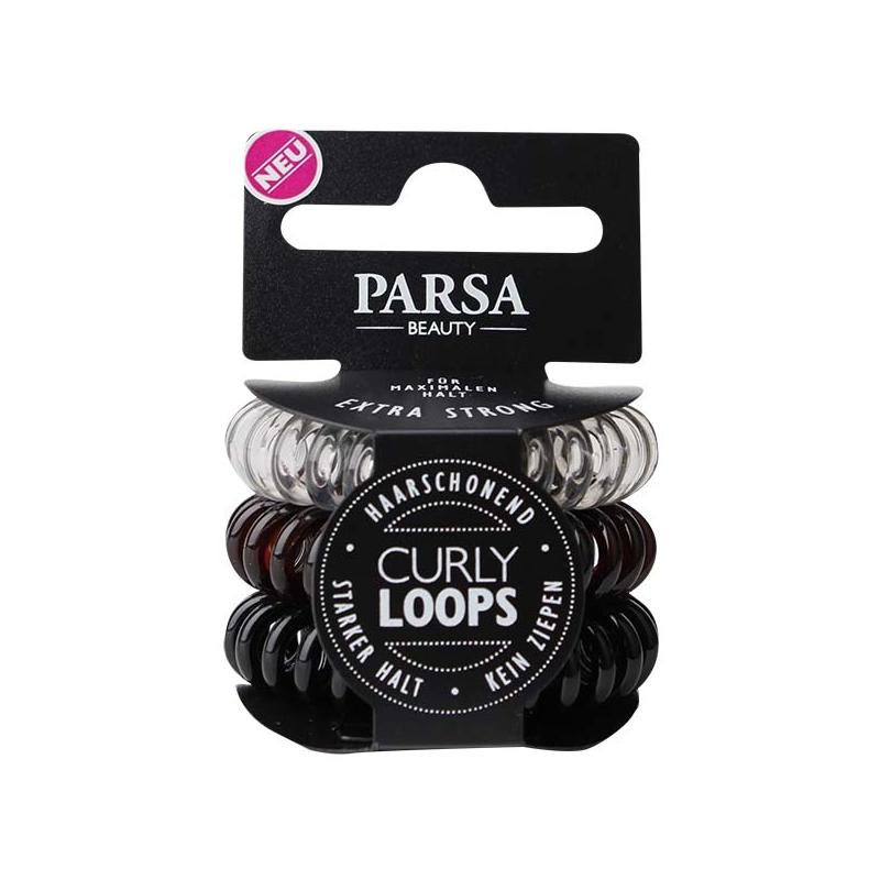 Parsa Beauty juuksekummid Curly Loops 67794