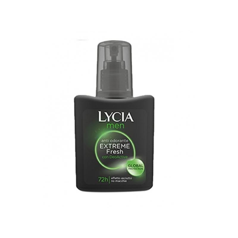 Lycia Men Deo Active Extreme Fresh higilõhna neutraliseeriv sprei