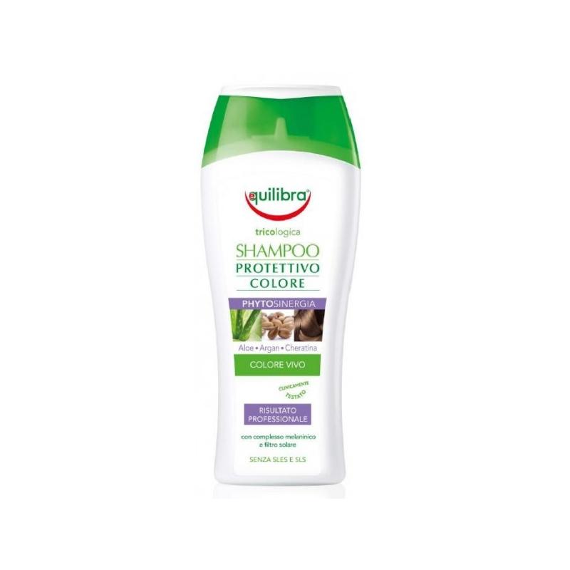 Equilibra Aloe värvikaitse šampoon päikesekaitsefiltriga