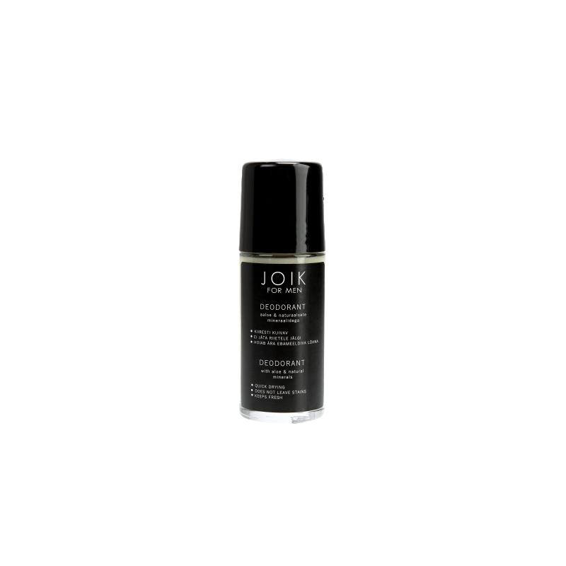 Joik deodorant meestele aaloe ja naturaalsete mineraalidega