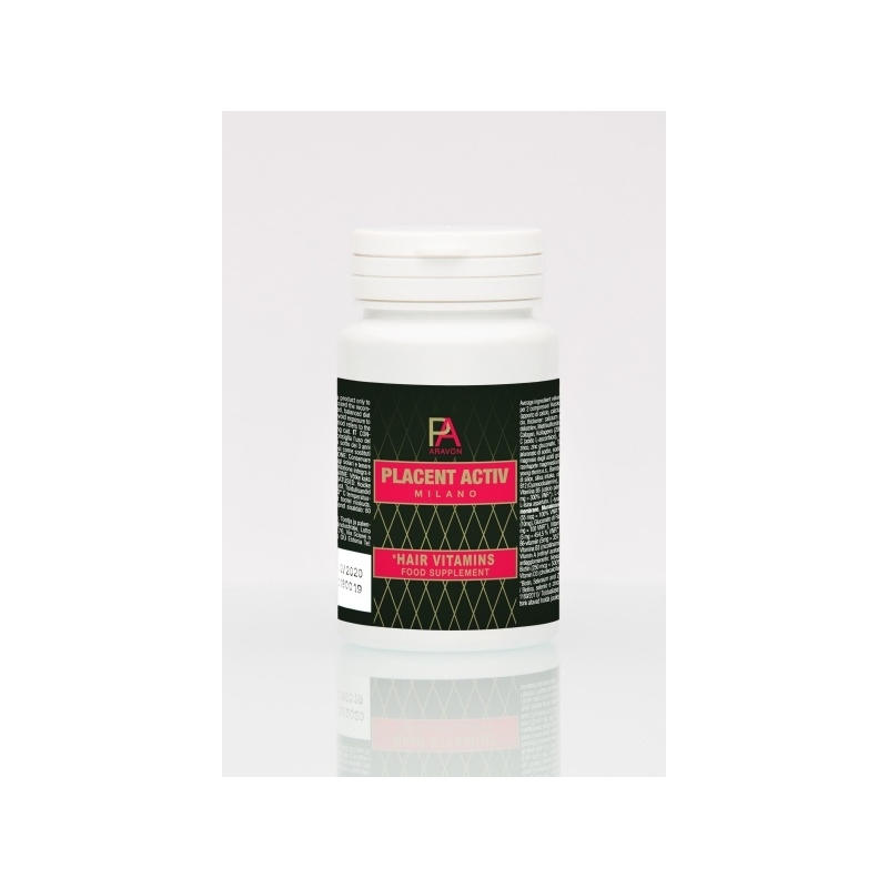 Placent Activ  Milano juuksekasvu vitamiinid