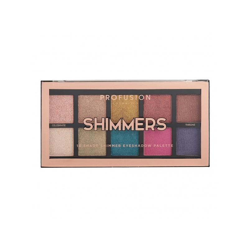 Profusion Shimmers lauvärvipalett 1800-2C