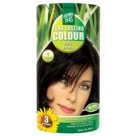 Henna Plus Long Lasting Colour juuksevärv  3 dark brown