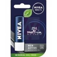 NIVEA hügieeniline huulepulk meestele SPF 8