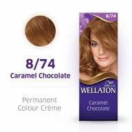 Wellaton Maxi Single püsivärv 8/74 šokolaad karamell