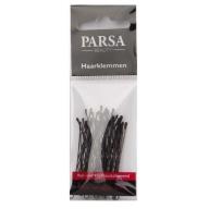 PARSA 22826 juukseklambrid 5 cm/20 tk/mustad