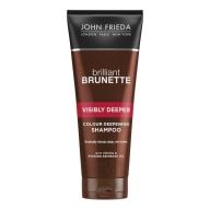 John Frieda Brilliant Brunette pruuni tooni intensiivistav šampoon