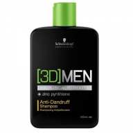 Schwarzkopf Professional 3D Anti Dandruff kõõmavastane šampoon meestele