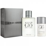 Giorgio Armani Aqua Di Gio komplekt Edt 100ml+stick deodorant